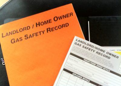LANDLORD GAS SAFETY CHECKS (CP12)